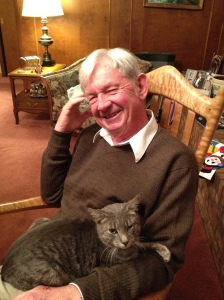 It looks like Grandpa likes him too...