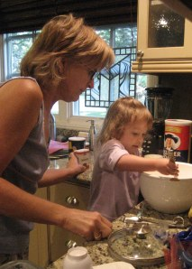 "In addition to motivating her husband and the other ""beef boys"" to achieve greatness, here she teaches her granddaughter how to cook!"