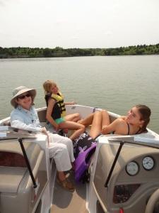 Grandma with Ashley Grace and Karyn...