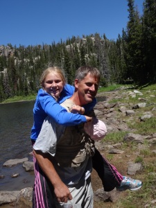 Doesn't everyone want to climb a mountain with a 100# giggling girl hitching a ride?