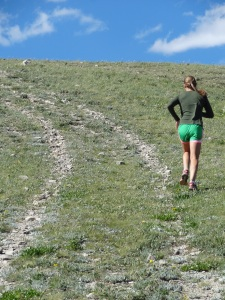 Running at 10,000 feet, anyone?  Gotta love a girl who is fueled by beef!
