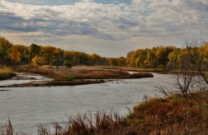 The beautiful Platte River...
