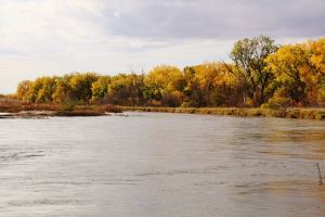 The river brings life to our farm and the Nebraska prairie with the gift of water...