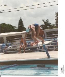 Anne Starting Block Swimming