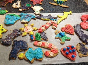 Making Christmas cookies is a fun family tradition...