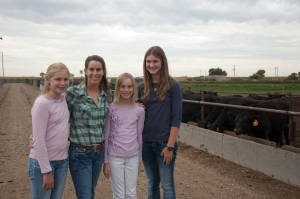 It is a great blessing to raise my girls on a farm in rural America...
