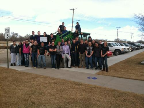 Bridgeport FFA Students...