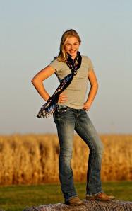 My favorite 7th grade cowgirl...