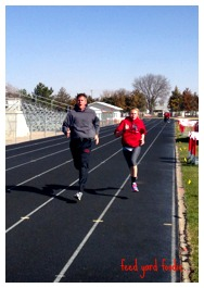 100 meter sprints...