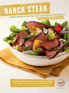 Champagne Steak Salad with Blue Cheese Recipe!