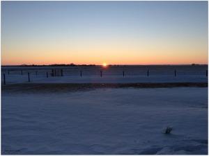 Wednesday evening's beautiful sunset...