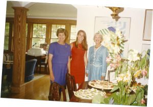 Anne Sally and Grannie picture